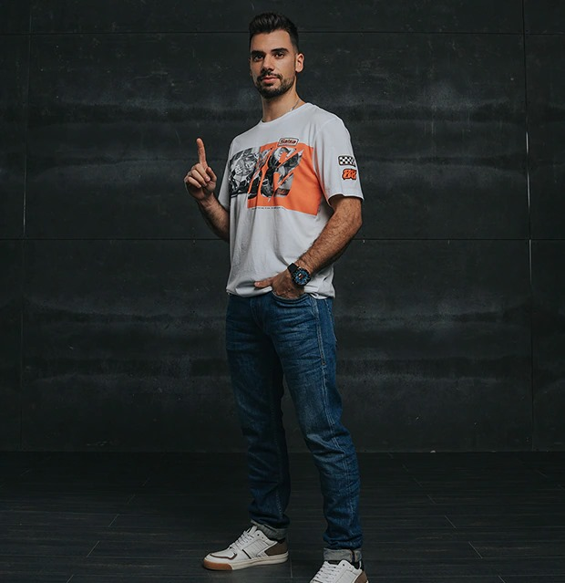 T-shirt  Miguel Oliveira | T-shirts Salsa Jeans